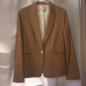 Philosophy tan blazer, size 8